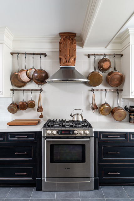Pot Hanging Rack ideas for the kitchen