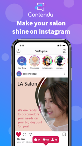 Contendu - Instagram Content for Beauty Salons screenshot 13