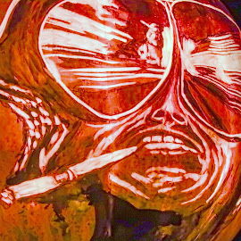 Fear and Loathing on the Jack O' Lantern Trail by JERry RYan - Public Holidays Halloween ( halloween louisville johnny depp hunter thompson )