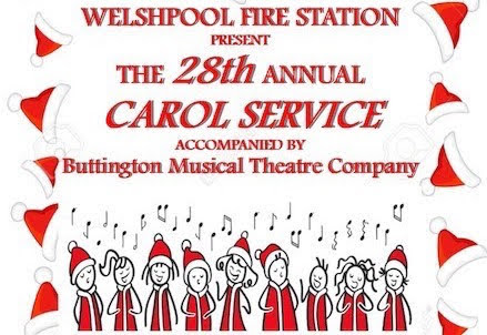 Fire station's Carol Concert on Friday