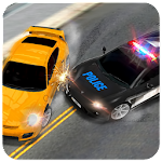 Crime Police Car : Robber Chase Game Simulator 3D Icon