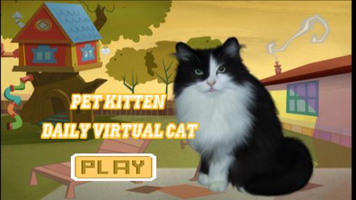 Pet Kitten : Daily Virtual Cat