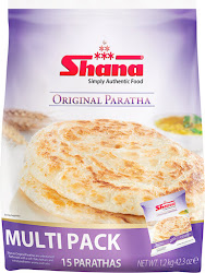 Shana Simply Authentic Food Original Parathas - 1.2kg