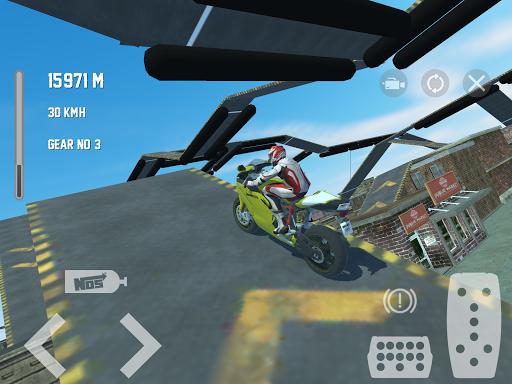 Motorbike Crush Simulator 3D  screenshots 9