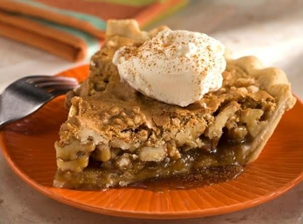 Butterscotch Walnut Pie Recipe