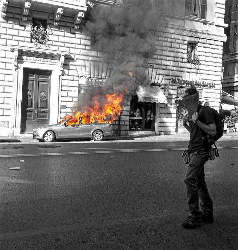 burning revolution  di Ale Brigante