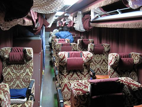 弘南バス「津輕号」 ・701 車内