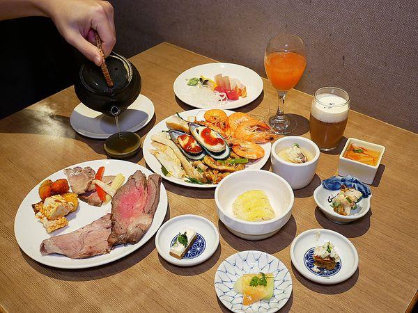 欣葉日本料理 健康店 - 台北日式吃到飽,2019秋季新菜登場,用餐別錯過炫目焚火燒鴨秀,壽星還有專屬日本扭蛋可以蒐藏