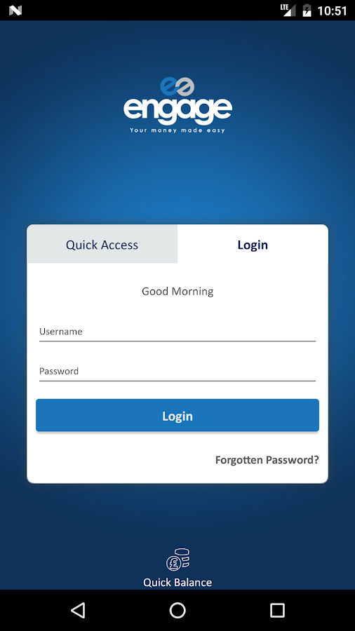 Engage Card- screenshot