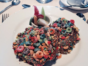 Photo: The Froot Loop encrusted french toast