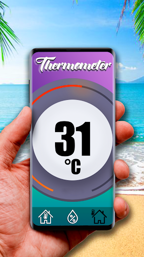 Free thermometer for Android 1.0 screenshots 2