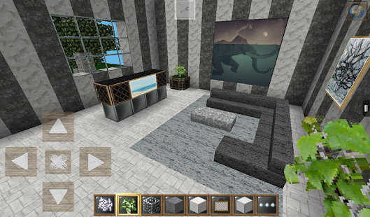 HD Modern Furniture Decorations for Minecraft MCPE - náhled