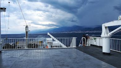 Photo: Sul tragetto da Messina a Villa San Giovanni