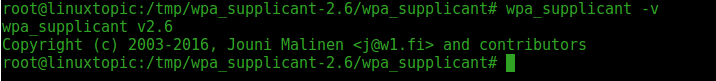wpa_supplicant is IEEE 802.1X/WPA component that is used in the client,  Step by Step wpa_suplicant 2.6 compile in Ubuntu 16.4, How to compile wpa_supplicant 2.6 in Ubuntu, wpa_supplicant, wpa_supplicant2.6, wireless, WiFi, wireless networking