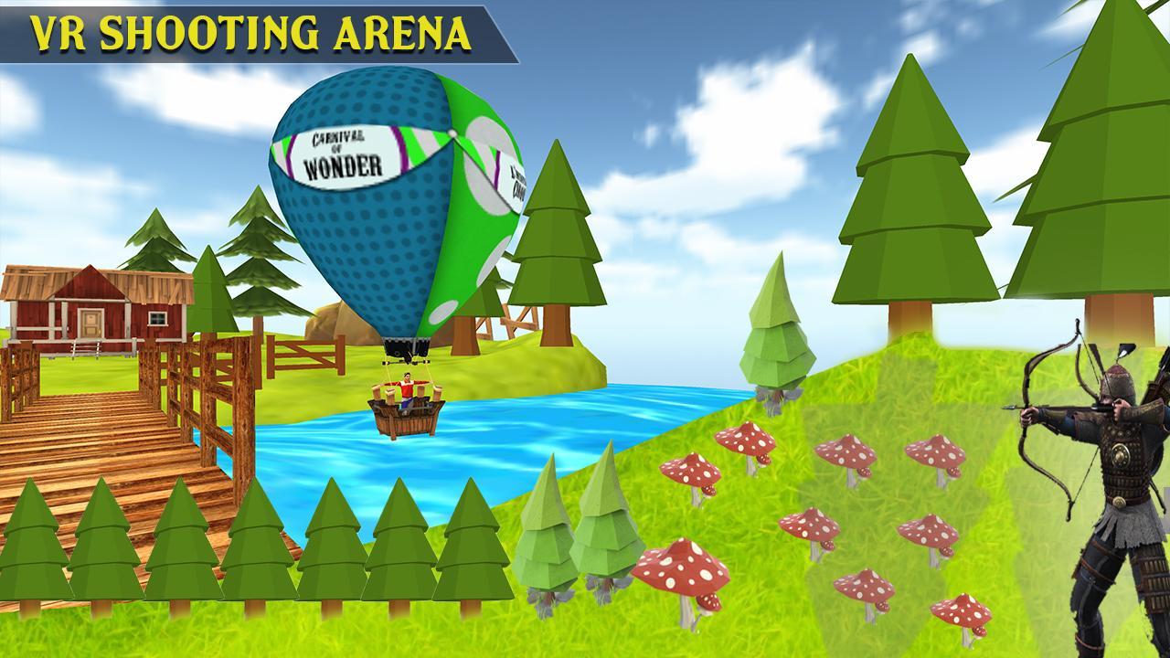 Fruit shooter games - Vr Archer Fruit Shooting Screenshot