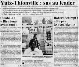 Photo: 29-11-96 N2F Derby lorrain entre Yutz-Thionville et PTT Nancy