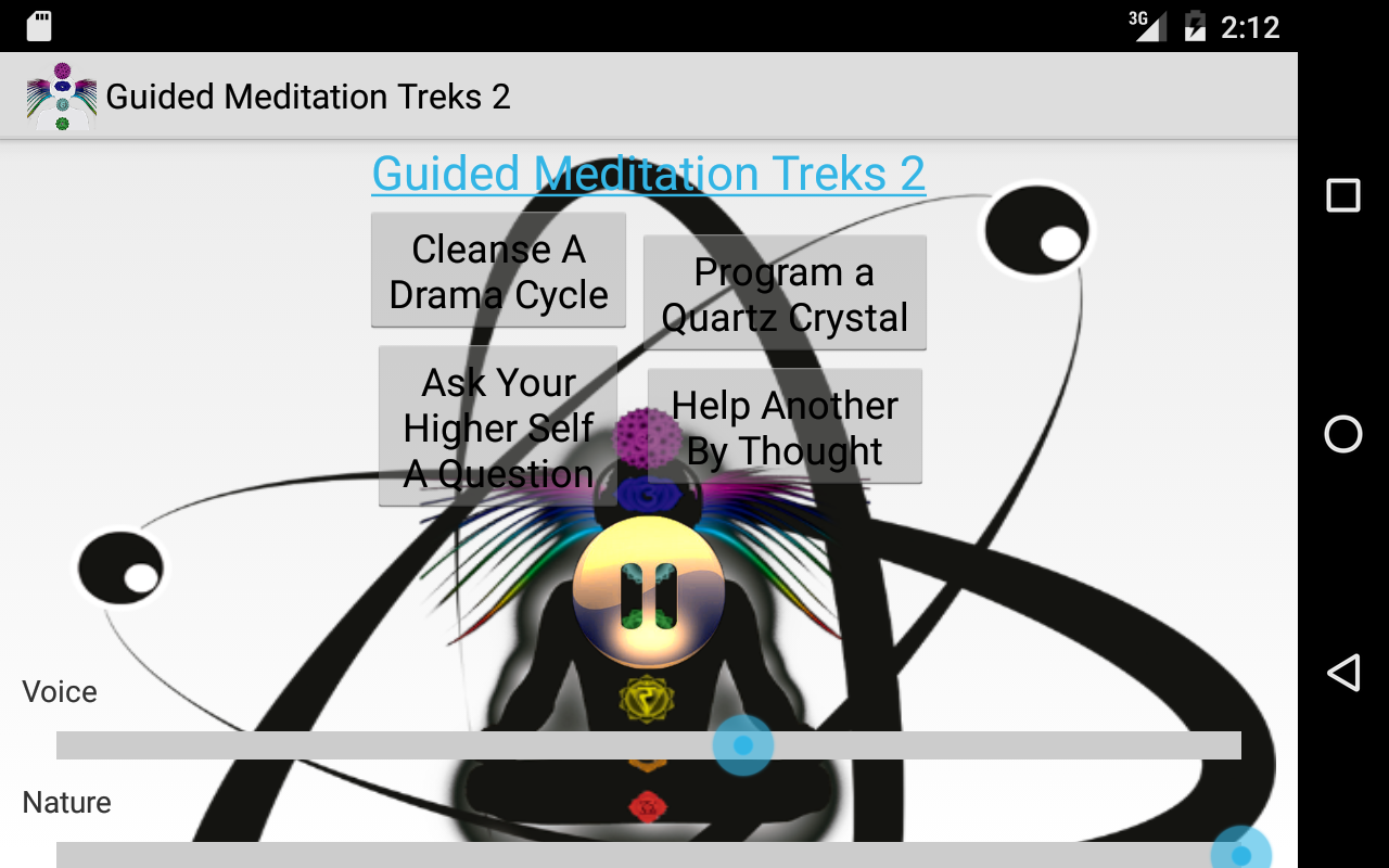Guided Meditation Treks 2- screenshot