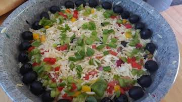 Colorful Orzo Pasta