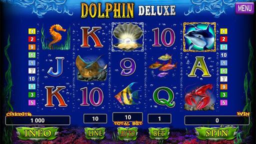 Dolphin Deluxe Slot 1.2 screenshots 1