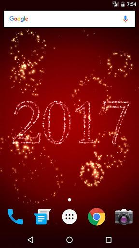 New Year Fireworks Live Wallpaper 2019 1.1.8 screenshots 1