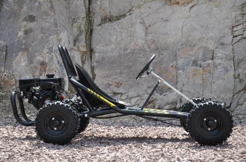 6.5 hp horse power offroad dirt go kart cart bike automatic kids teenagers 4 stroke motoworks sale discount cheap black