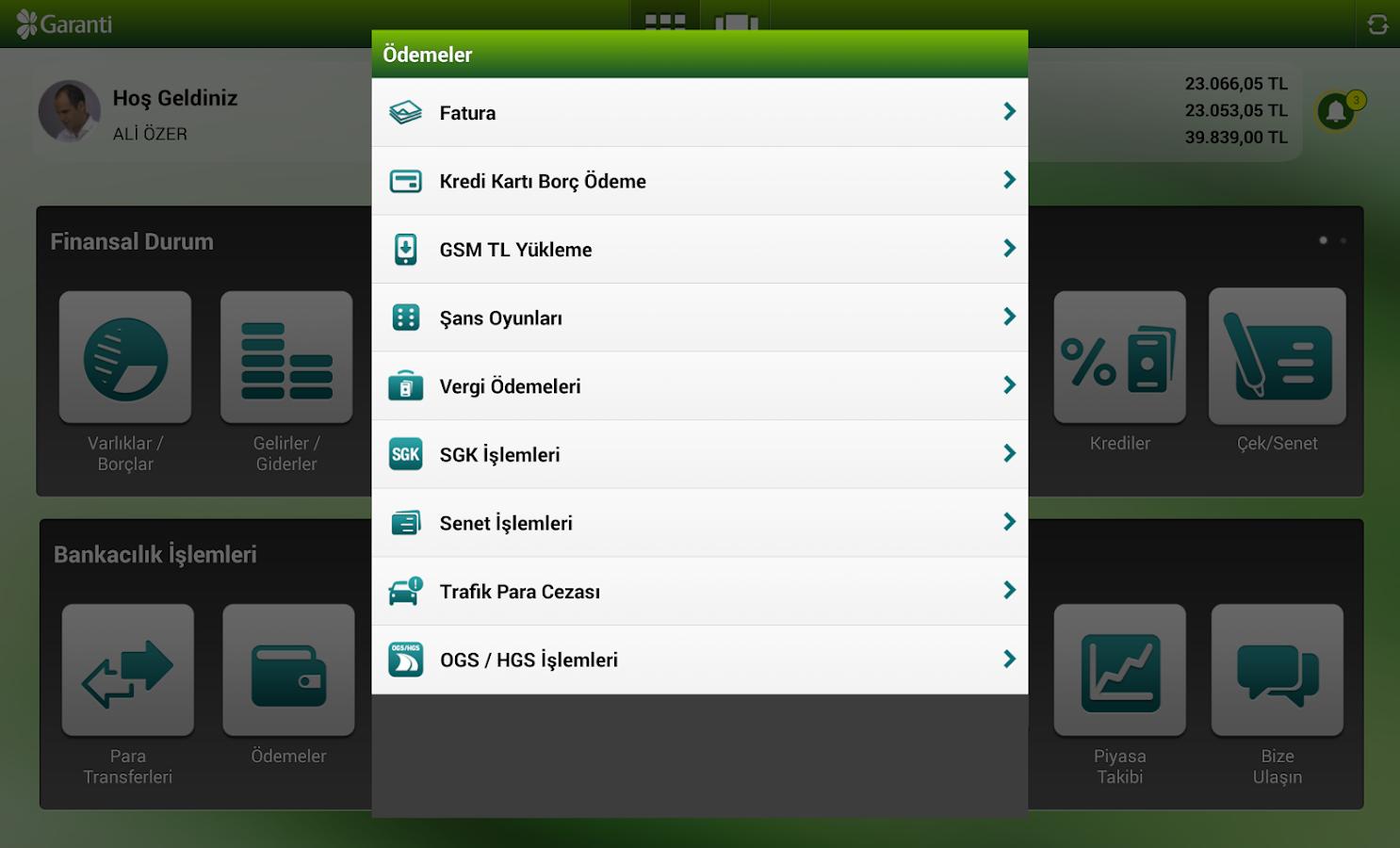 Garanti Cep Şubesi- screenshot