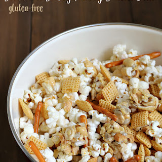 Sweet and Salty Nutty Snack Mix {Gluten-free}.