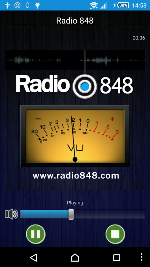 Radio 848- screenshot