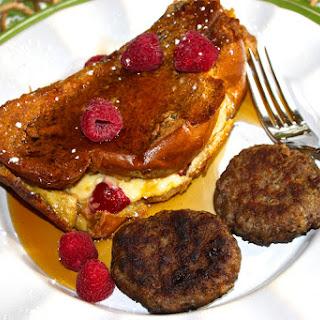 Raspberry and Lemon-Curd Mascarpone Stuffed French Toast