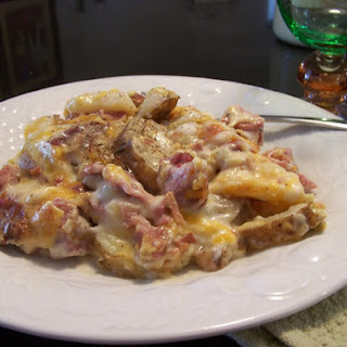 """Kiss Me"" Gluten Free Scalloped Potatoes and Ham"