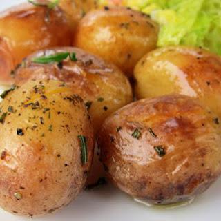 Roast Baby Potatoes.