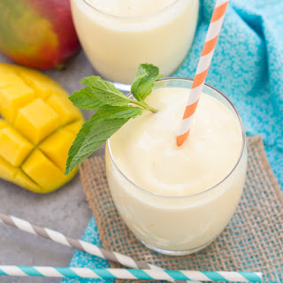 Creamy, Dreamy Mango Smoothie.