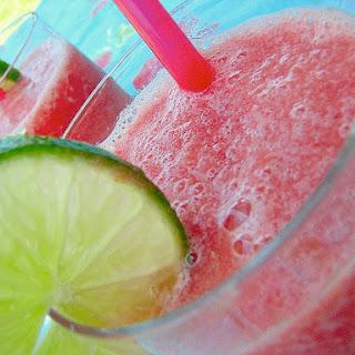 Watermelon-Limeade Slushies