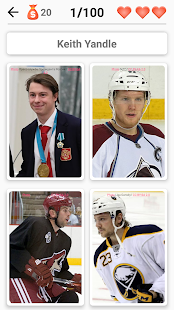Hockey Players - Quiz about players (NHL and KHL) for PC-Windows 7,8,10 and Mac apk screenshot 1
