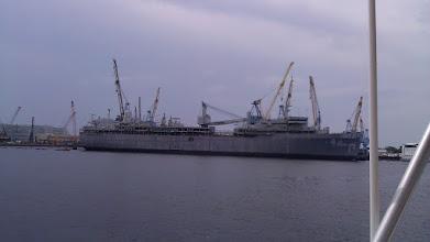 Photo: Navy supply ship.
