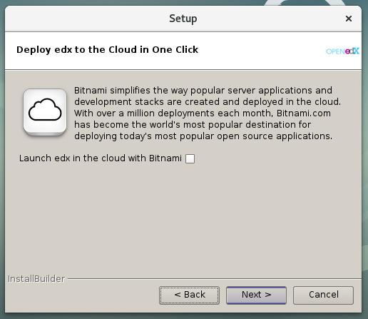 Figura 11 - Deshabilitar despliegue en la nube