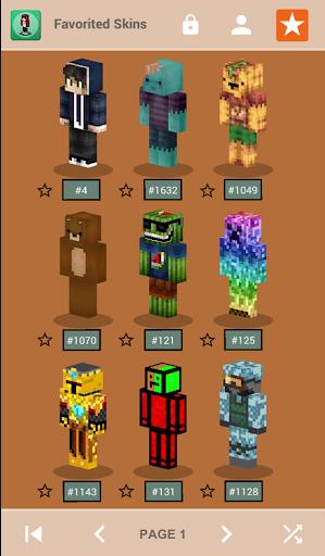 Skins for Minecraft PE 1.4 screenshots 6