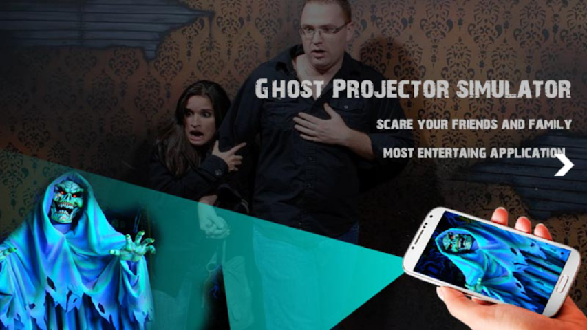 android Ghost Projector Simulator Screenshot 0