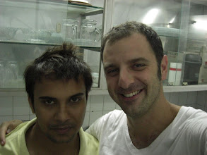 Photo: Vikas and Stephen