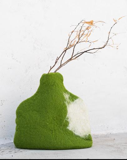 Cache pot Vert Pomme Equilibrant