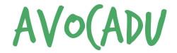 avocadu logo green