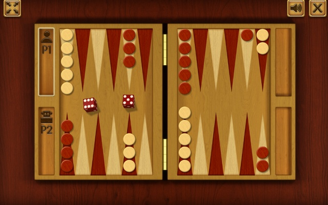 Classical Backgammon Game For Chrome