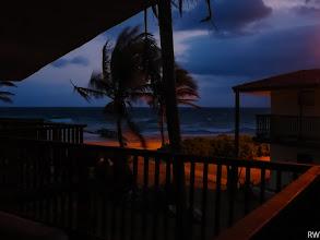 Photo: Ночью штормило.