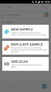 SCiO Lab: Developer Toolkit Screenshot