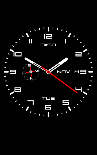 Clock Live Wallpaper 1.34 screenshots 2