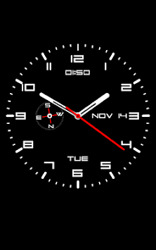 Clock Live Wallpaper Poster