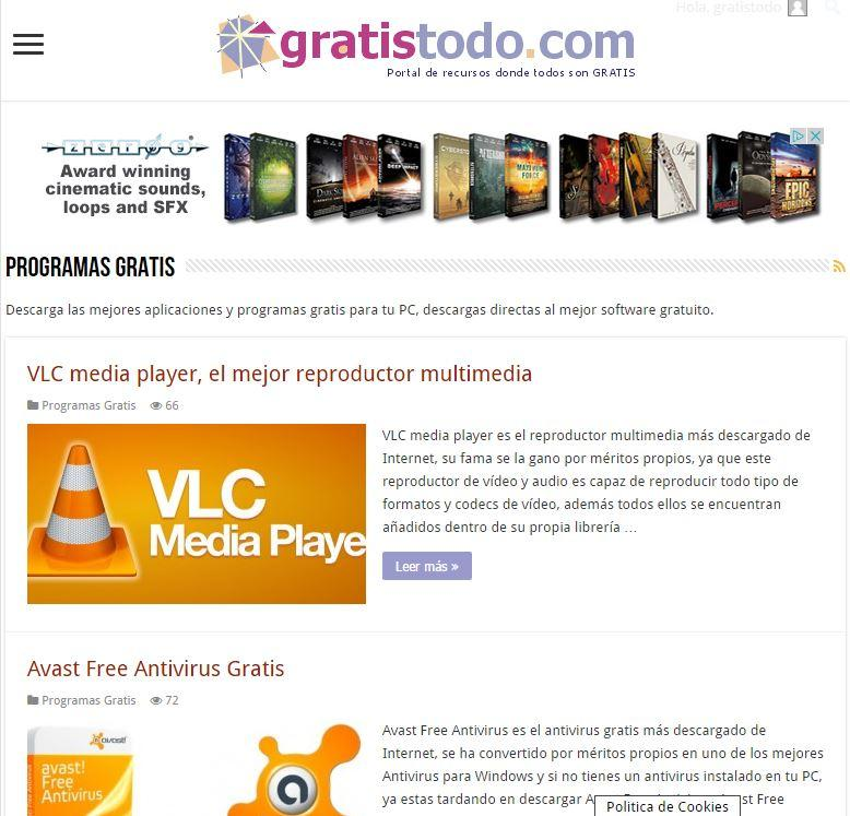 App Gratis Todo- screenshot