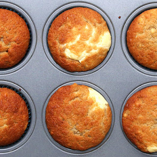 3. Cream Cheese–FIlled Banana Bread Muffins