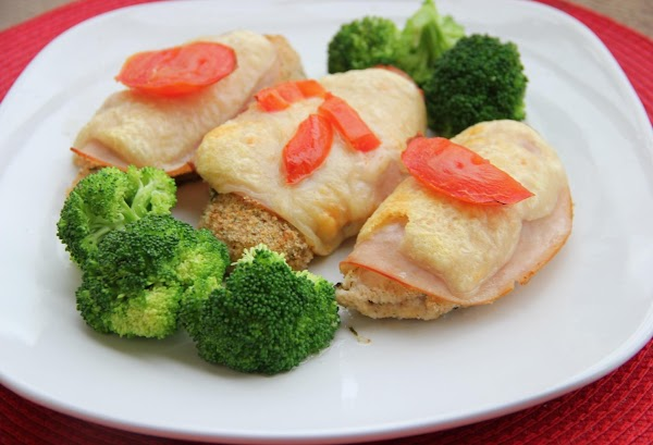 Chicken Cordon Bleu (skinnyer) Recipe