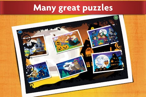 jigsaw puzzles halloween game for kids - Halloween Kid Games Online